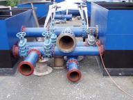 Baustellenschweißung an Rohrverbindung
